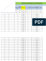 OEE Monitoring Sheet