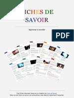 Fiches de Savoir 1.1
