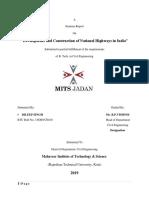 Seminar Highways Report