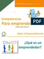 Competencias Para Emprenderores