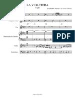La Violetera - Piano y voz