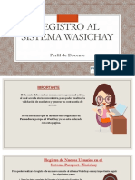 Wasichay Docente Completo