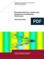 Parametric Hull Form Variation & Assessment of Seakeeping Performance ; WIGLEY - 2018.pdf