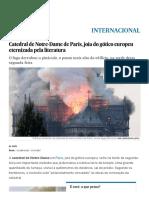 Corcunda_ Catedral de Notre-Dame de Paris, joia do gótico europeu eternizada pela literatura _ Internacional _ EL PAÍS Brasil