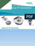 171122 Xylem Hydrovar Variable Speed Drive IEM Seminar Agent CS Power