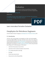 Formation Evaluation Formation Evaluation is the Acquisition of Data and Quantification of Parameters Needed for Drilling, Production, Reservoir Characterization and Reservoir Engineering.