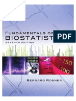 Fundamentals of Biostatistics 7th Edition Chapter-1