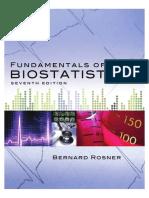 Fundamentals of Biostatistics 7th Edition Chapter-1