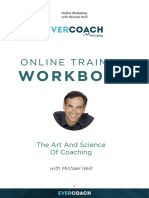 Michael Neill Workbook - The Art and Science of Coaching 1