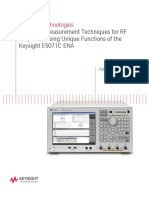 Advanced Measurement Techniques for RFPA