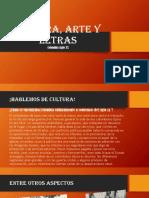 Cultura, Arte y Letras