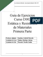 Guia de Ejercicios Estatica Primera Parte v.4 PDFejercicios