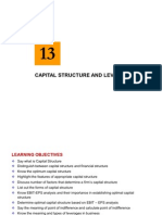 Chapter 13 -Capital Structure