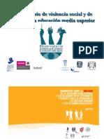 Observatorio Violencia Social Genero Educacion Media Sup Mex