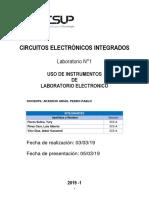 Laboratorio 01 - Circuitos Electrónicos Integrados