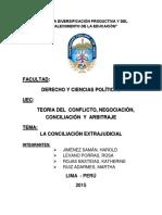 La Conciliacion Extrajudicial (1)