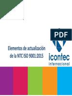Elementos de Actualizaci n ISO 9001