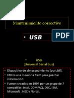 Repacion de USB