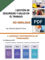Sistema de Gestión de SST, IsO 45001-2018_2da Sesión