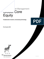 Investec 4 Factor Strategy