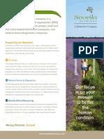 Novella Corporate Fact Sheet 2016 Web 1
