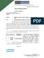 OFICIO N°034-2019 - REMITO EXPEDIENTES PARA EL TRAMITE CORRESPONDIENTE DE PAGO