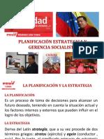 Planificación Estratégica y Gerencia Socialista