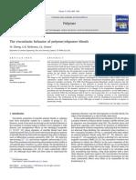 The Viscoelastic Behavior of Polymer Oligomer Blends