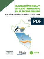 Recaudación fiscal y beneficios tributarios en el sector minero a la luz de los casos Las Bambas y Cerro Verde.pdf