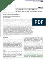M W Meyer Et Al (Analyst 2011 136 3542) SERS