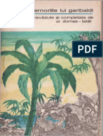 Alexandre Dumas - Tatal - Memoriile Lui Garibaldi 1970 BPT 585