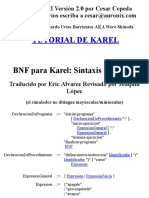BNF Para Karel