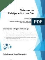 Ciclos de Refrigeración Por Gas