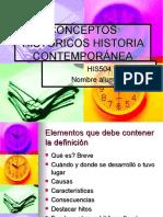 Conceptos Historicos Historia Contemporanea