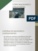 Cortina Tipo Machones o Contrafuertes-Estructuras Hidraulicas