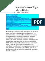 Un recién revisado cronología de la Biblia.docx