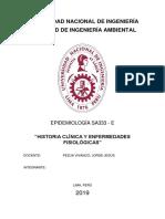 Historia Clínica y Enfermedades Fisiológicas