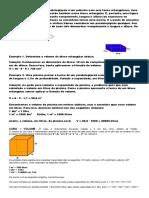 Exercicios Volume Do Cubo e Do Paralelepípedo