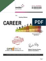 Career Sample Report