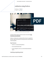 Data Visualization Using Seaborn – Towards Data Science