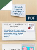 Inteligencia Emocional 04272019