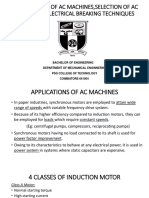 Applications of Ac Machines