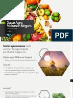 Dasar Agro Makanan Negara