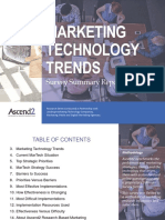Ascend2 Marketing Technology Trends Report 181101