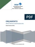 Orçamento -  Levantamento quantitativos  - Elisete Pereira da Silva.pdf