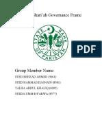 Shariah Governance Framework