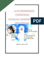 Plan de Desarrollo Curricular Prof. Jose Chavez Ultimo