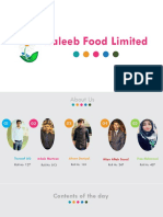 Complete HR Report of Haleeb Food Limited by Touseef Ahmed Qureshi, Lahore Garrison University