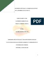 Diseño Del Plan de Exportación Para La Comercialización de Papaya Deshid... 3