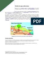 Modelo de Agua Subterránea